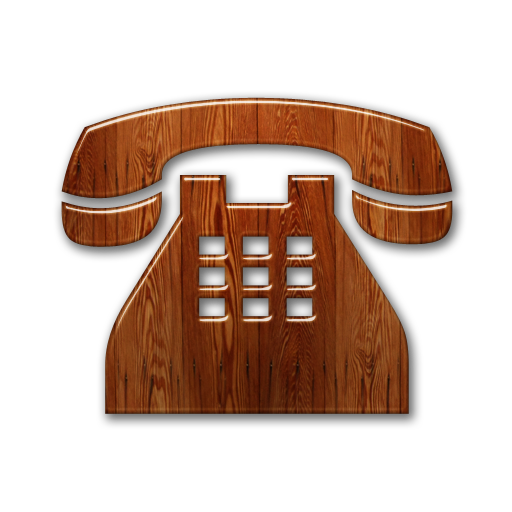 081614-glossy-waxed-wood-icon-business-phone-solid.png